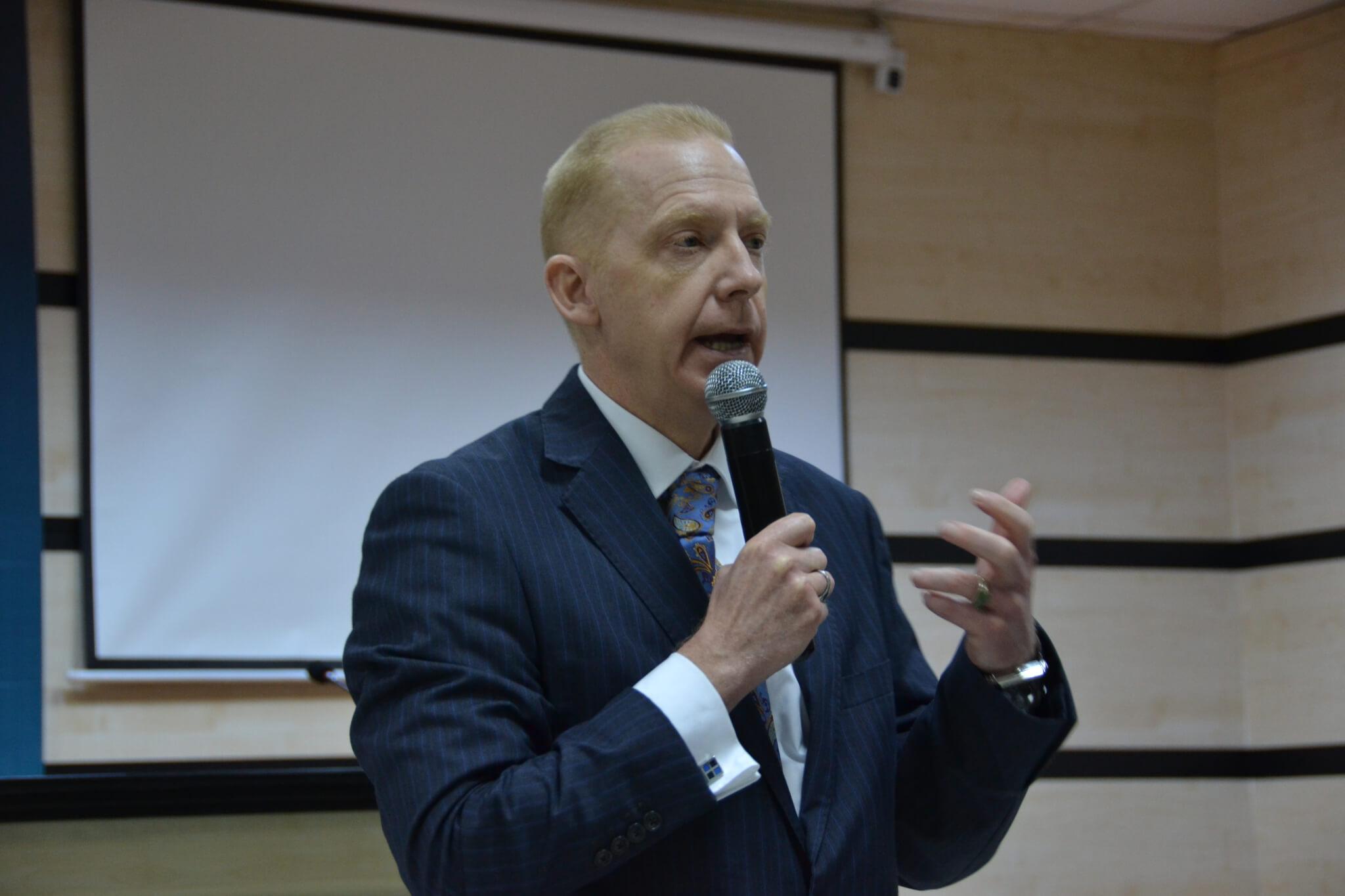 U.S. Deputy Ambassador Henry Jardine