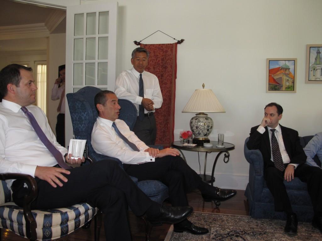 Takimi ne rezidencen e Ambasadorit CEO- Forum