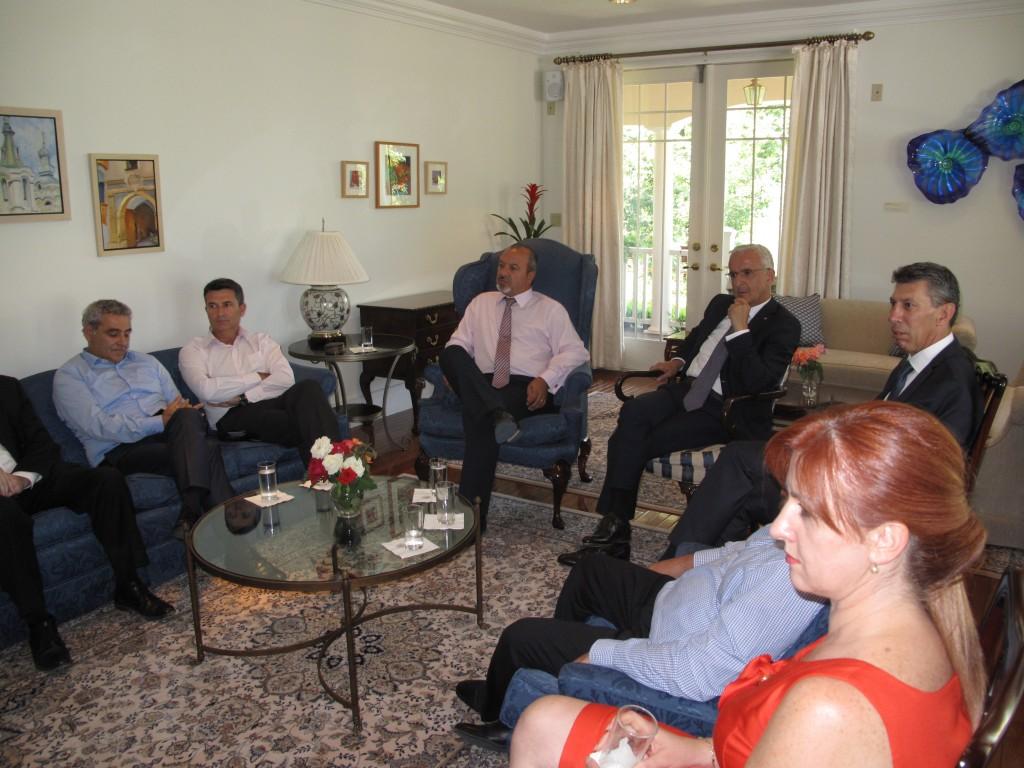 Takimi ne rezidencen e Ambasadorit CEo-Forum 2