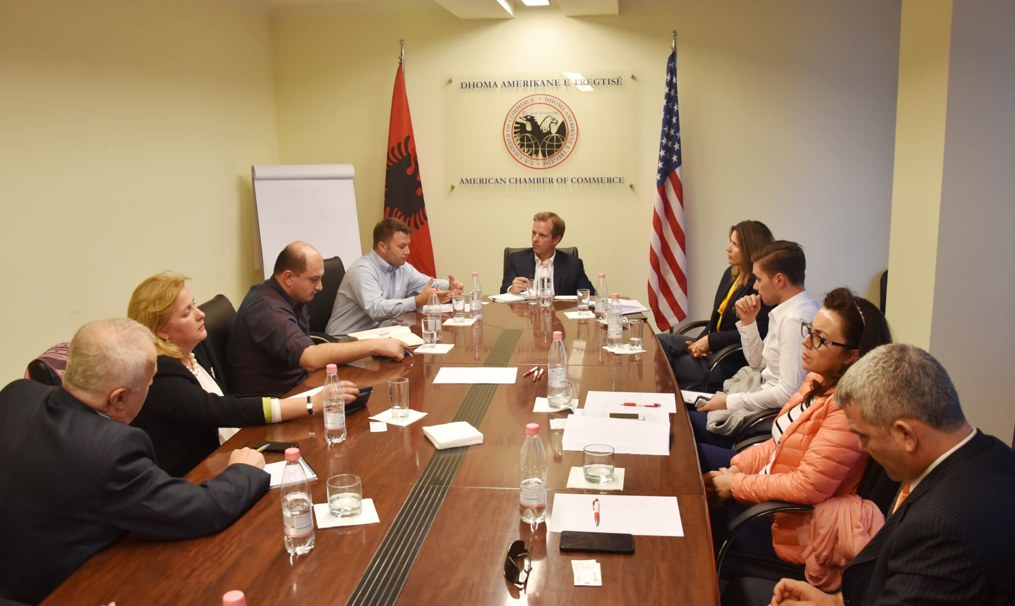 The IPR Committee met with Mr. Donald E. Townsend, Regional Intellectual Property Rights Attaché covering Balkan countries
