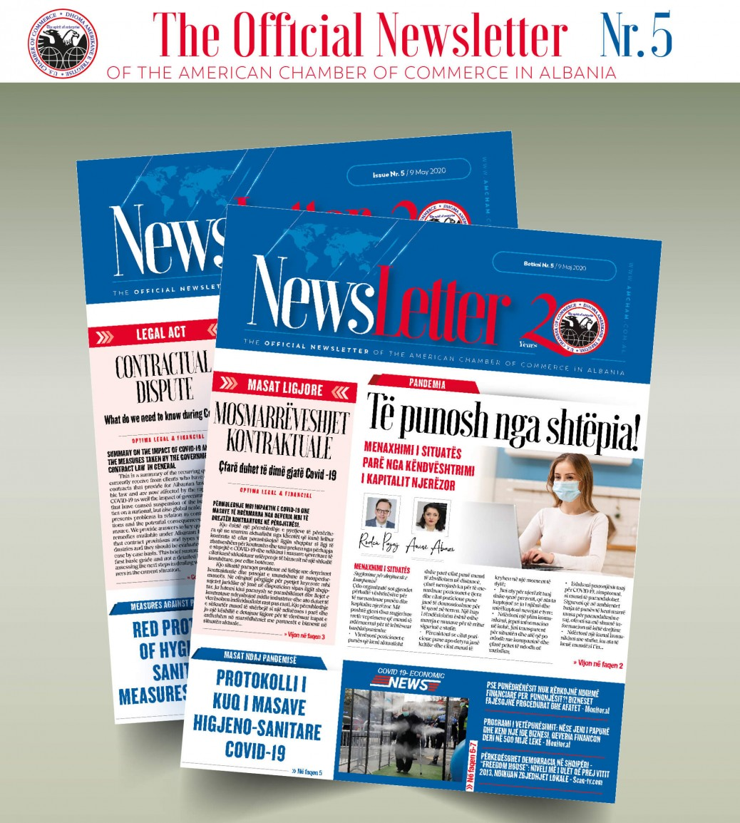Newsletter 05 (English & Shqip)