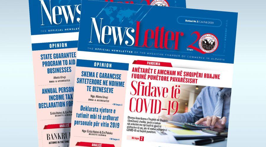 Newsletter 03 (Shqip & English)