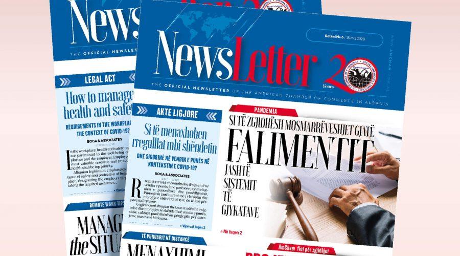 Newsletter nr. 06 (English & Shqip)