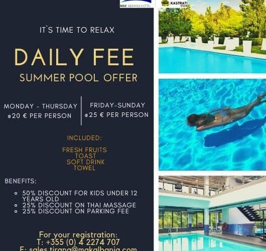 fitness offer summer 2019