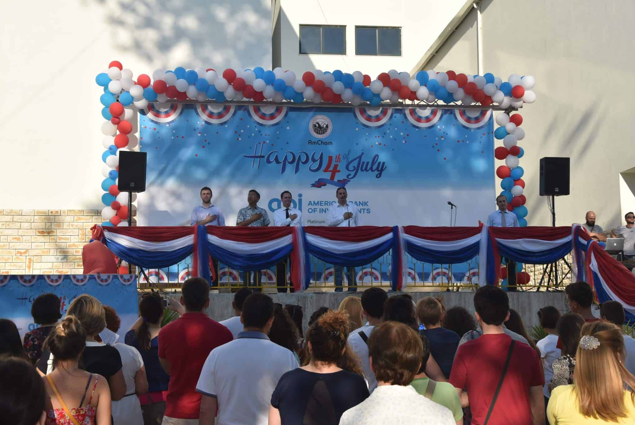 Singing the American National Anthem