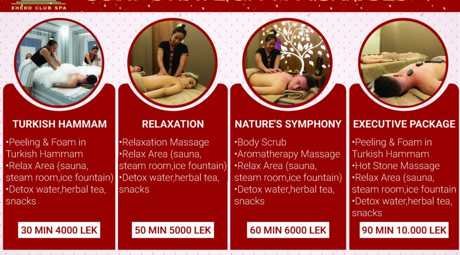 Corporate SPA Packages for AmCham members